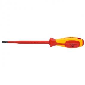 Отвертка для винтов с шлицевой головкой (тонкая) VDE Knipex KN-982035SL