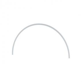 Дуга пластиковая для парника 90 х 126 см, D 20, белая Palisad