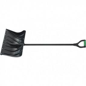 Лопата снеговая 500 x 325 мм, металлопластиковый черенок Palisad