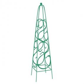 Пирамида садовая декоративная для вьющихся растений, 112,5 х 23 см, квадратная Palisad