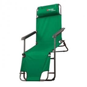 Кресло-шезлонг двух позиционное 156 х 60 х 82 см Camping Palisad 69587