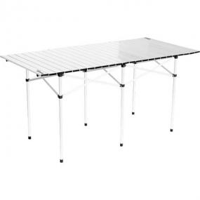 Стол складной алюминиевый 1400 x 700 x 700 мм Camping Palisad 69580