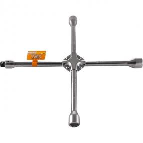 """Ключ баллонный крестообразный 17х19х21х22 мм, вставка 1/2""""DR A90003 Ombra"""