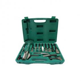 Многофункциональный инструмент со сменными зубилами и выколотками Jonnesway AG010143
