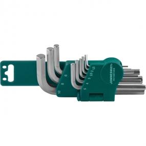 Комплект угловых шестигранников 1,5-10мм, S2, 9 шт. H01SM109S Jonnesway