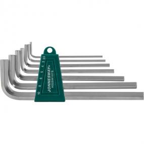 Комплект угловых шестигранников Long 2,5-10 мм, S2, 7 шт H02SM107S Jonnesway