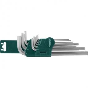 Комплект угловых шестигранников Long 1,5-10 мм, S2, 10 шт H02SM109S Jonnesway