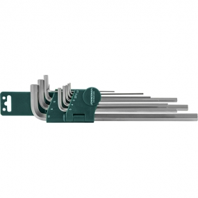 Комплект угловых шестигранников Extra Long 1,5-10 мм, 10 шт. H02SM109SL Jonnesway