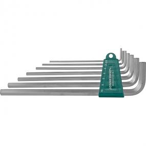 Комплект угловых шестигранников Extra Long 2,5-10 мм, S2, 7 шт. H03SM107S Jonnesway
