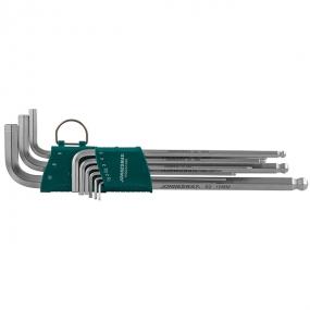 Набор торцевых шестигранных ключей EXTRA LONG 1,5-10 мм, 9 шт H06SA109S Jonnesway