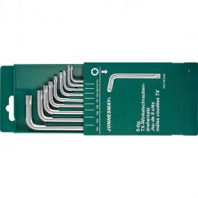 Комплект угловых ключей Torx H07M09S Jonnesway