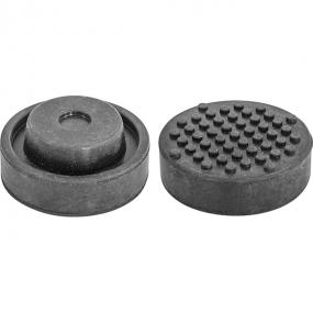 Опора резиновая для подкатных домкратов, D-72 мм, Н-32 мм OHT1070 Ombra