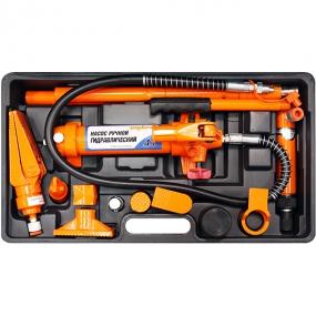 Набор гидравлического инструмента для кузовного ремонта 4 т. 18 предметов OHT948M Ombra