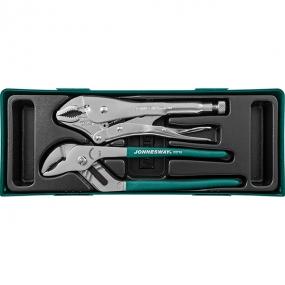 Набор инструмента: переставные клещи и ручные тиски, 2 шт P2710ST Jonnesway 48190