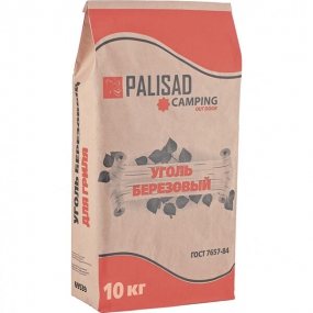 Уголь березовый, 10 кг Palisad 69539