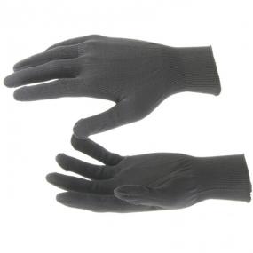 Перчатки Нейлон, 13 класс, черные, XL Россия