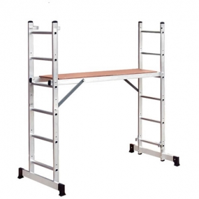 Алюминиевая лестница помост 3 В 1 Россия 97970