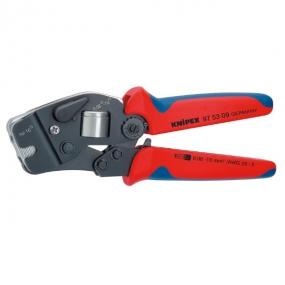 Самонастраивающийся инструмент для опрессовки контактных гильз Knipex KN-975309