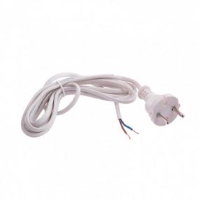Шнур электрический соединительный 2,2 м, 120 Вт, белый, тип V-1 Сибртех