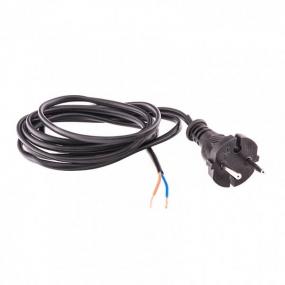 Шнур электрический соединительный 2,2 м, 120 Вт, черный, тип V-1 Сибртех