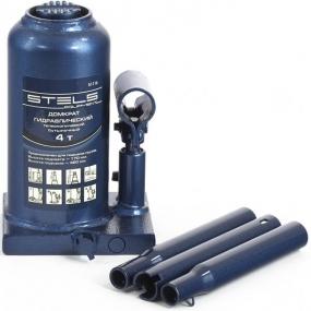 Домкрат гидравлический бутылочный телескопический 4 т. Stels 51116