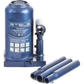 Домкрат гидравлический бутылочный телескопический 6 т. Stels 51117