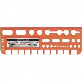 Полка для инструмента 47,5 см, оранжевая Stels 90718
