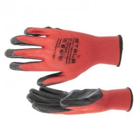 Перчатки полиэфирные маслобензостойкие L Stels 67870