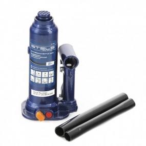 Домкрат гидравлический бутылочный 2 т, подъем 178-338 мм Stels 51160