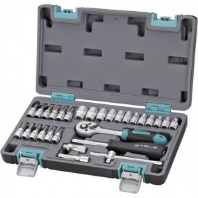 Набор инструментов 29 шт. в кейсе Stels 14100