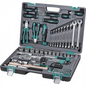 Набор инструментов 98 шт. в кейсе Stels 14111
