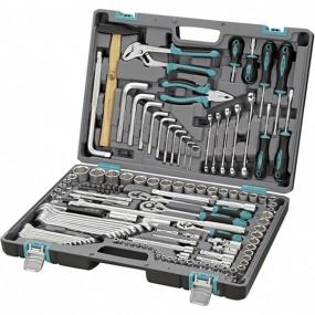 Набор инструментов 142 шт. в кейсе Stels 14107