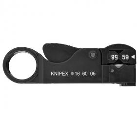 Стриппер коаксиальных кабелей Knipex KN-166005SB