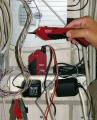 Детектор электропроводки и светодиодный фонарь Testboy 26