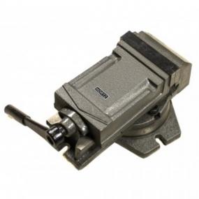 Тиски станочные поворотные 125 мм Hortz 104462