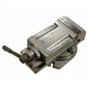 Тиски станочные поворотные 160 мм Hortz 104463