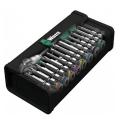 """Набор с трещоткой 8100 SA 6 Zyklop Speed 1/4"""", 28 предметов Wera WE-004016"""