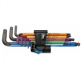 Набор Г-образных ключей 950 SPKL/9 SM HF Multicolour Wera WE-022210