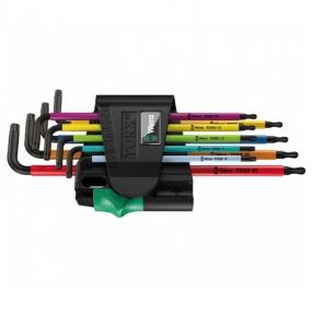 Набор Г-образных ключей 967 SPKL/9 TORX® BO Multicolour Wera WE-073599