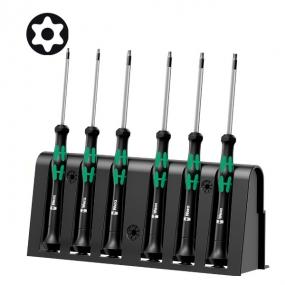 Набор отверток для электронщиков + подставка 2067/6 TORX® BO Wera WE-118154