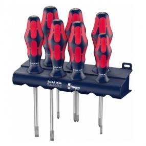 Набор отверток Kraftform Plus Lasertip с подставкой Red Bull Racing Wera WE-227700